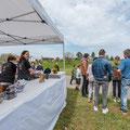 Rundflugtage Wängi Aktiv 2018, Verkaufsstand