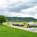 Elite Flights, AS 350 B2 Ecureuil, HB-ZPF, Rundflugtag Gewerbeausstellung UNDOB 2019, Obersiggenthal, overview