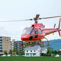 Elite Flights, AS 350 B2 Ecureuil, HB-ZPF, Rundflugtag Gewerbeausstellung UNDOB 2019, Obersiggenthal, Take Off