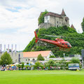 AS350 B2 Ecureuil, HB-ZPF, Rundflugtage Burgdorf, BUGA 2018, Schloss Burgdorf