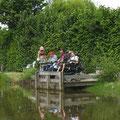 ponton accessible avec fauteuil roulant