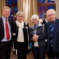Gäste des Heinrich Schütz Residenz und des Abends Herr und Frau Rauch gemeinsam mit Herrn und Frau Knörrlich