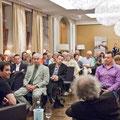 Gut 90 Gäste besuchten die 6. Literaturlounge mit Ingo Steuer