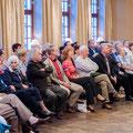 Der Heinrich Schütz Saal am 3. September 2014 mit über 70 Besuchern
