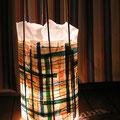 frau jenson, Lampenschirm, Papiere und Bambus