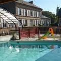 piscine au camping de la baie de somme