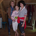 in den Flittertagen mit Tochter und Mutti