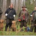 v.l.n.r.: Uli & Connor, Sibylle & Elinor, Norma, Heike & Jamie