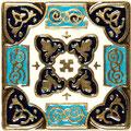 Persia 5x5 с эмалью 1655
