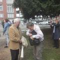 Prof. Dr. Fulbert Steffensky und Klaus Schmidt (© Hinrich Kley-Olsen)