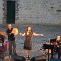 François Collombon, Helen Juren et Thierry Le Pollès - photo Elise Turbat Pontoise 21/07/2016