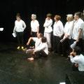 """Répétitions Groupe Nomades - spectacle """"A Moi"""" 2015"""