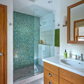 KANE HOUSE: BEAUTIFUL, HIGHLY EFFICIENT WATER USE IN MASTER BATH