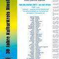 Jubiläumsplakat 30 Jahr KKD