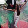 Stelzengeher beim Bal du Cirque Fantastique in Velden