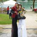 Hafenfest Klagenfurt Stelzengeher