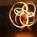Feuershow in Villach