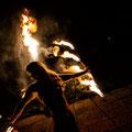 Feuershow für Hochzeit