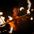 Feuershow Dragon Staff