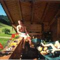 Steinbachgut Flachau - Aussicht Ferienwohnungen