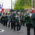 Défile du 8 mai 2012 à Vergongheon