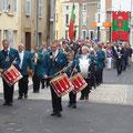 Défilé du jumelage germano-italiano français du 27 mai 2012 à Brassac-les-Mines