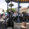 Concert sous le kiosque à Brassac le 12 Juin 2011