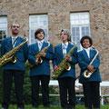Saxophones au château de Brassac-les-Mines en 2010
