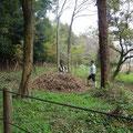 写真4 堆肥場