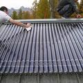 Capteur solaire sous vide