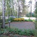 Garden as seen from the terrace