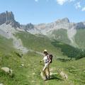 randonnée dans les Pyrénées vers le lac d'Ansabère...