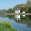 le Bec des Gaves à la confluence des Gaves et de l'Adour...