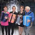Gala d'accordéon en compagnie de Catherine Prud'homme, Fred Langlais et André Trichot