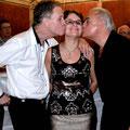 Mes copines étaient toutes jalouses, un bisou de Bertrand Humbert et de Patrick Robin !
