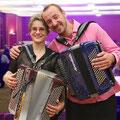 Souvenir de gala avec Jérôme Baudoui, l'accordéoniste de Patrick Sébastien