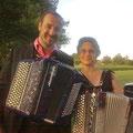 Karine et Jérome Baudoui du Coll Orchestra (Patrick Sébastien)