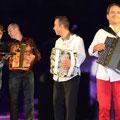 Gala d'accordéon avec Franck Vilain, Jérôme et Mickael Richard