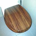 Toilette (Holz)