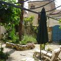 Chambres d'Hôtes, Tarn, Dourgne, La Boal, le patio