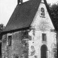 Fassade der Kapelle 1954