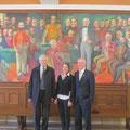 Gespräch mit Jóna Sólveig Elínardóttir und dem deutschen Botschafter
