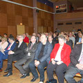 Egon Jüttner beim Neujahrsempfang der Kultur- und Interessengemeinschaft Mannheim-Schönau e.V. im Siedlerheim