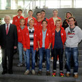 Mannheimer Schülerinnen und Schüler zu Gast im Paul-Löbe-Haus des Deutschen Bundestags