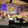 Egon Jüttner auf der Jahrestagung der OSZE in Helsinki