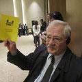 Egon Jüttner als Mitglied der Parlamentarischen Versammlung der OSZE in Baku