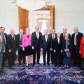 Der Ausschuss für Menschenrechte und Humanitäre Hilfe beim Bundespräsidenten Joachim Gauck