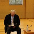 Egon Jüttner beim bundesweiten Vorlesetag in der Käfertalschule