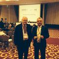 Egon Jüttner mit seinem Bundestagskollegen, Jürgen Klimke, als OSZE-Wahlbeobachter in der Türkei