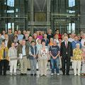 Egon Jüttner mit 50 Mannheimerinnen und Mannheimern im Paul-Löbe-Haus des Deutschen Bundestags